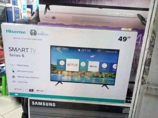 49 inch Hisense Smart Full HD television image 1