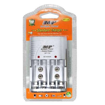 Multiple Power Standard Battery Charger For AA/AAA/9V Batteries image 2