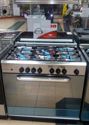 Ariston C081/C08 SG1 X/CN5SG1 (X) EX 5 Gas Professional Cooker - Stainless Steel image 2
