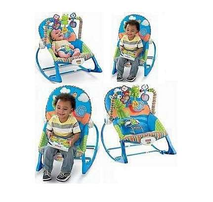 Toddler baby rocker with music and Vibrations