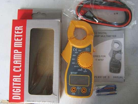 MT87 LCD Digital Clamp Multimeter image 1