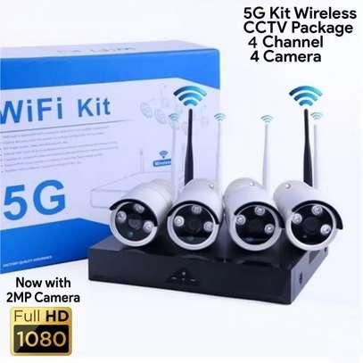 4 channel wireless NVR5G camera image 1