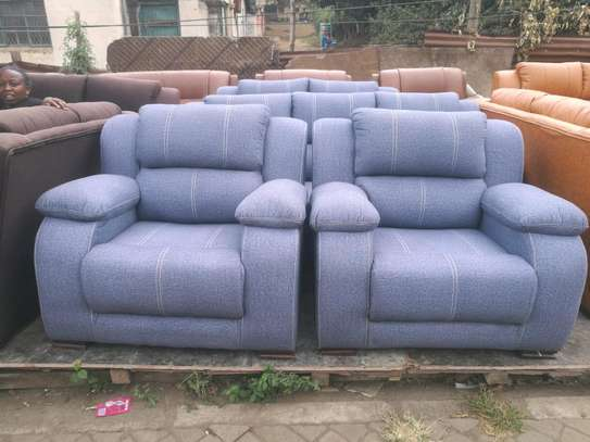 Ready Made Luxurious Contemporary Quality 7 Seater Non-Reacliner Sofaa image 2