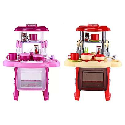 TOY KITCHEN SET FOR YOUR BABY GIRL image 2
