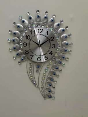 Question mark and Eye Design wall clocks image 3