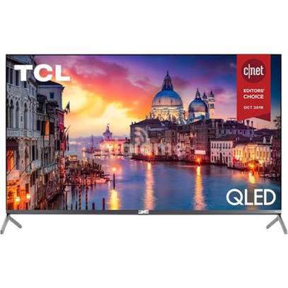 New TCL 65 inches Q-LED Android Smart UHD-4K Digital TVs image 1