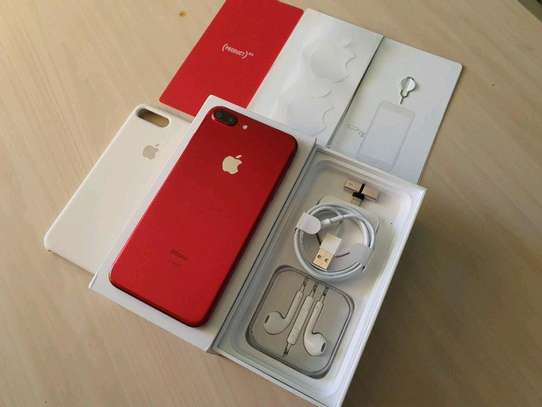 Apple Iphone 7 Plus 256Gb Product Red And Iwatch Nike Edition image 3