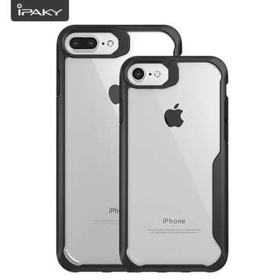 IPAKY Hybrid Shockproof Transparent Case for iPhone  7 7 Plus image 2