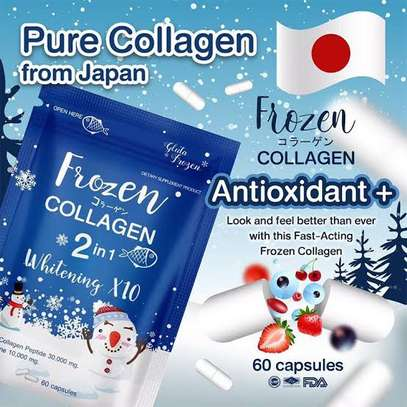 Frozen collagen 2 in 1 whitening