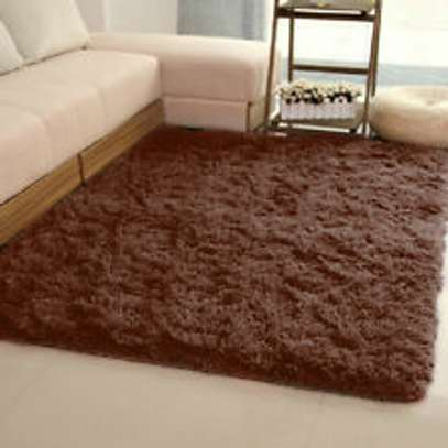 PREMIUM 5*8 FLUFFY CARPET image 1
