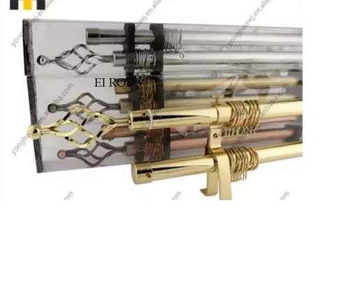 classy elegant curtain rods image 3