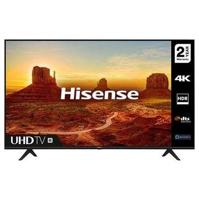 "Hisense - 55"" UHD 4K LED Smart TV - Black - Frameless With Bluetooth image 2"
