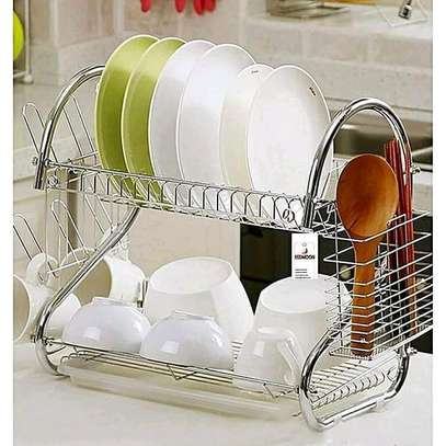 2 Tier Dish Rack image 1