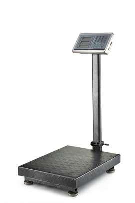 300/150KG calibration digital price platform scale image 1
