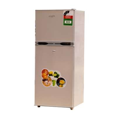 ICECOOL 118 LITRES DOUBLE DOOR DIRECT COOL FRIDGE -BCD118 image 1