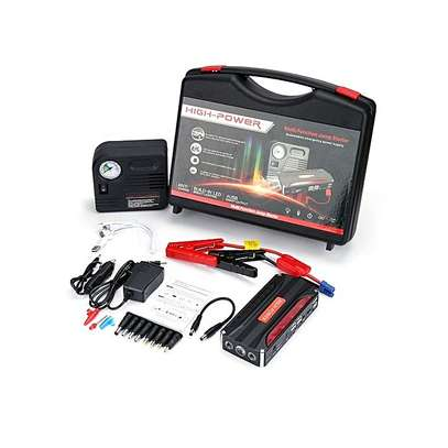 Car Jumpstarter Kit With Air Compressor image 1