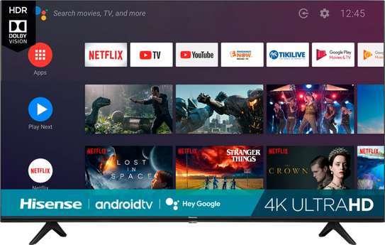Hisense 70 Inch Smart Android 4K UHD Frameless Tv image 1
