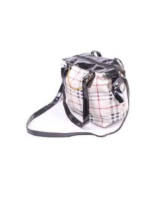 Sling bag with chain, multicolored image 2