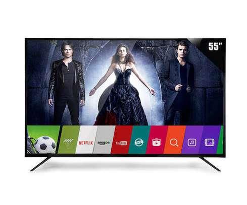 New 55 inches Skyworth Frameless Android UHD-4K Smart Digital TVs image 1