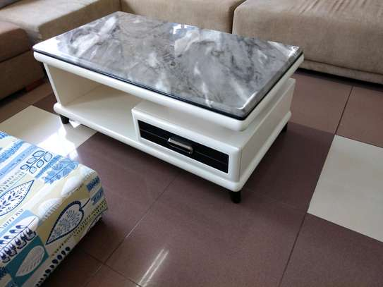 Puremarble top coffee table image 1