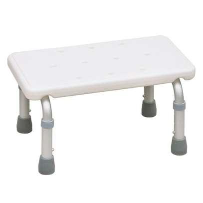 Adjustable Height Bath Stool Can Be Used As Bathtub Step image 1