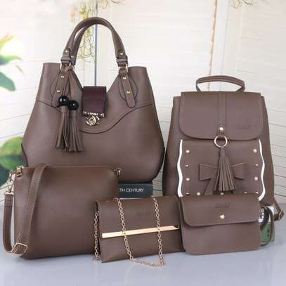 5 in 1 ladies handbags image 1