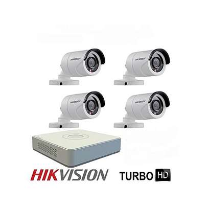 4 CCTV CAMERA FULL SET (Ready for Installation) image 2