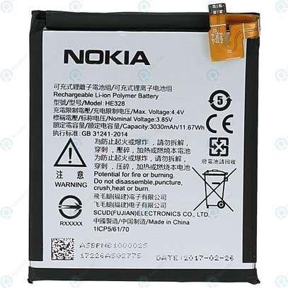 Nokia Nokia 8 Battery - Silver image 1