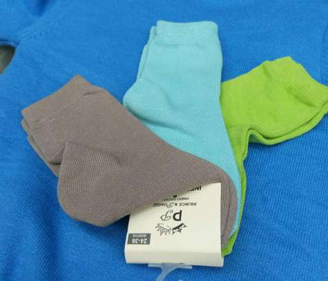 3 PC set baby socks image 1