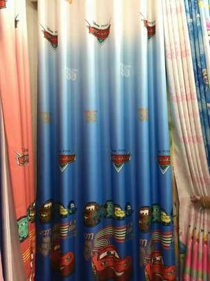 Kids cartoon themed curtains image 10