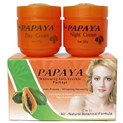 PAPAYA Whitening   Natural botanical formula skin care whitening cream. image 11