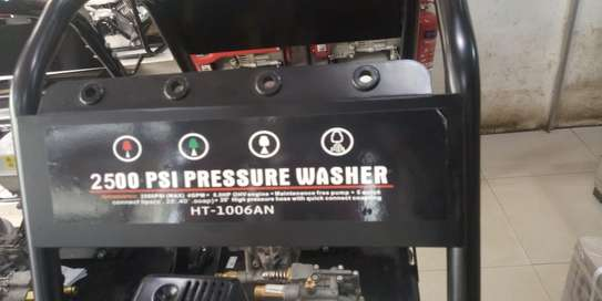 High pressure gasoline car wash machine