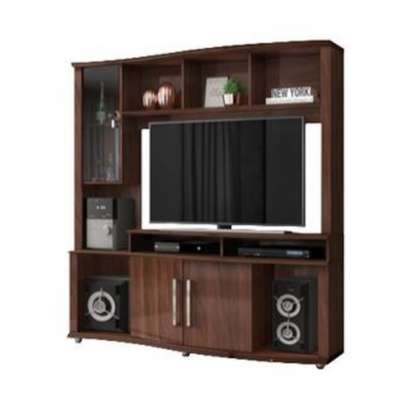 Libia Entertainment Unit TV Stand & Wall Unit image 5
