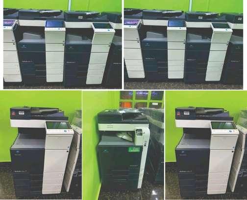 Konica minolta bizhub c224 colored photocopier image 1