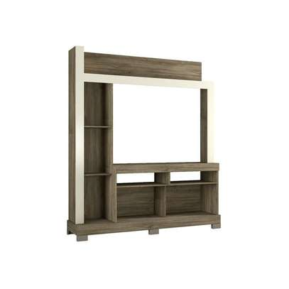 TV Wall Unit Rack Bela NT1025 - TV space up to 43'' - CINNAMON/SAND image 4