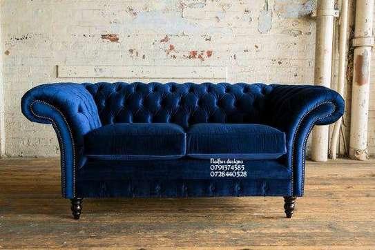 Chesterfield sofas/modern sofas/two seater sofas image 1