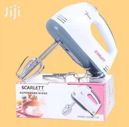 Scarlet 7 Speed Hand Mixer image 1
