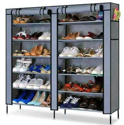 Double Column Shoe Rack