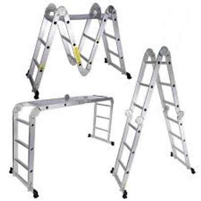 Aluminium Folding Ladder supplier in kenya image 1