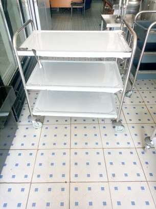 Stainless Steel  trolley image 2