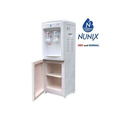 Nunix Hot And Normal Standing Water Dispenser-White image 1
