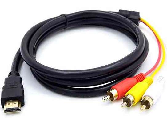 HDMI To 3-RCA/ AV Cable – At Steliam Computers