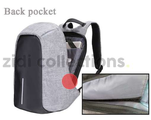 Bobby Design Anti-theft High Quality Laptop Backpack – USB Charging image 7
