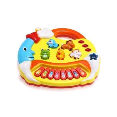 Kids Musical Educational Animal Farm Piano Developmental Music Toy Gift image 1