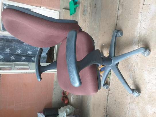 Rotating office chair.....