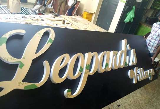 We do quality 3D signage, Light box signage, corporate logos.. contact us for pricing image 8