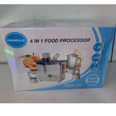 PRIMDABLE 4 IN 1 FOOD PROCESSOR image 1