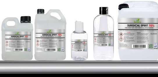 Surgical Spirit 70% - 5L - Sentry Chemicals Enterprises image 4