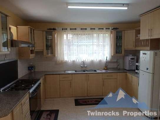 Furnished 3 bedroom house for rent in Karen image 9