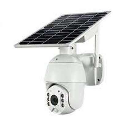 4G solar enabled ptz camera image 1